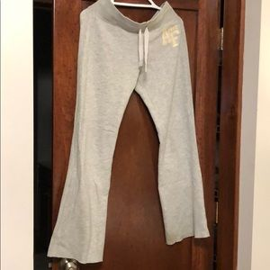 Abercrombie & Fitch gray small sweatpants